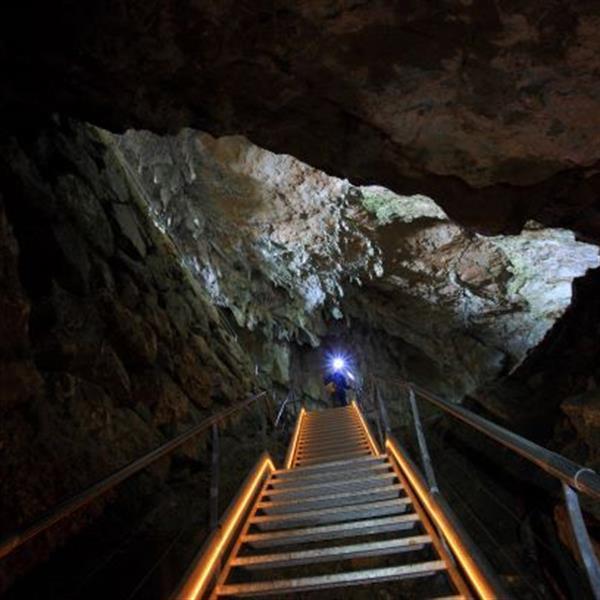 Visita guiada a la cueva (EN EUSKERA)